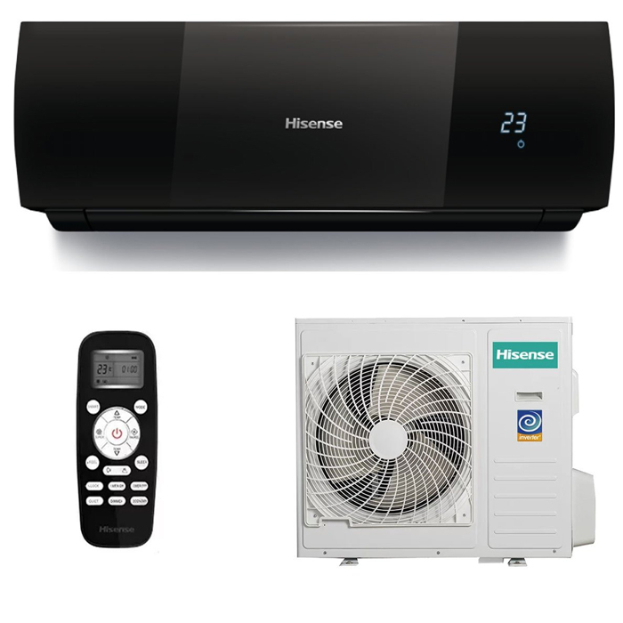 Настенная сплит-система Hisense AS-13UR4SVDDEIB15 (BLACK Star)  2